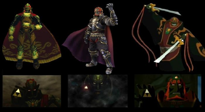 progression_of_ganondorf_by_womack90-d2xgzlo